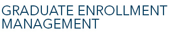 graduate enrollment management