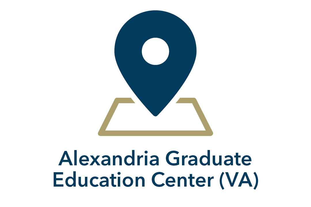 Alexandria Graduate Education Center (VA); graphical presentation of map marker