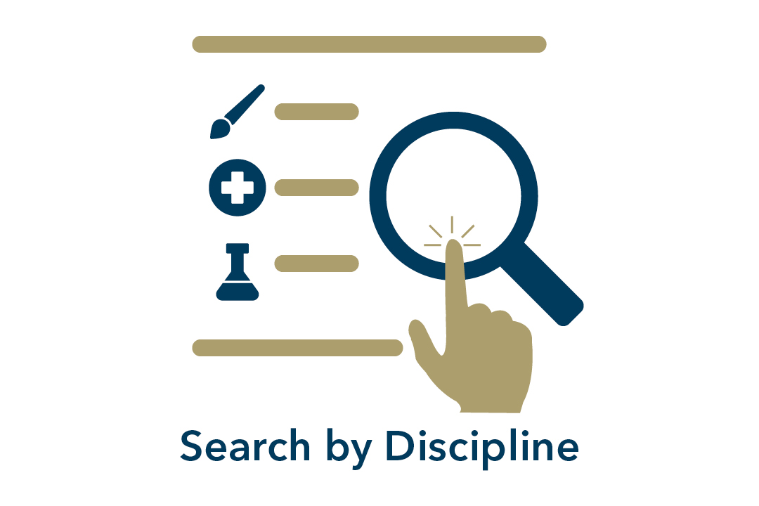 search by discipline