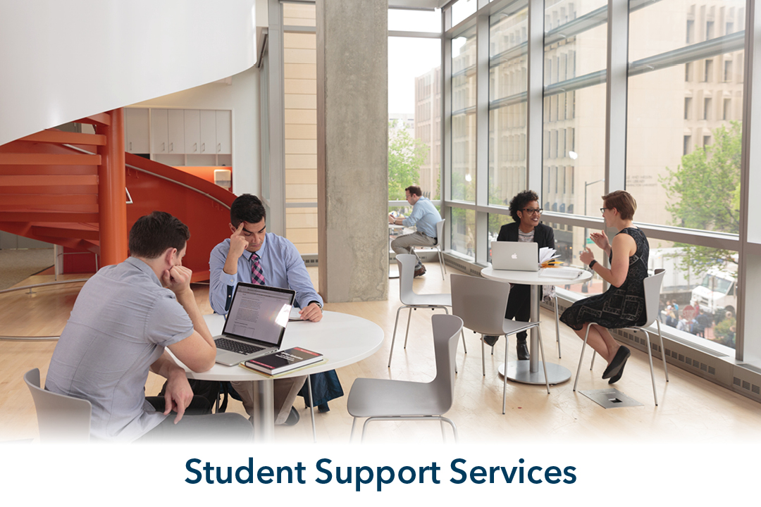 student support services: people getting tutoring lessons